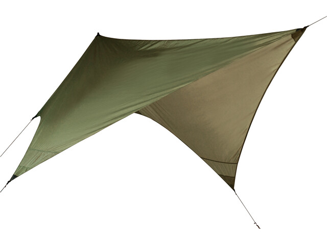 Nordisk Voss Diamond Tentwing PU Tarp, dusty green